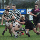 Greystones on the attack against Dungannon