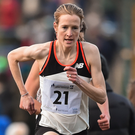 Fionnuala McCormack, who was the top European in the Boston Marathon on Sunday