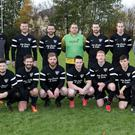 St. Fergal's prior to their Wicklow Cup tie against Wicklow Town