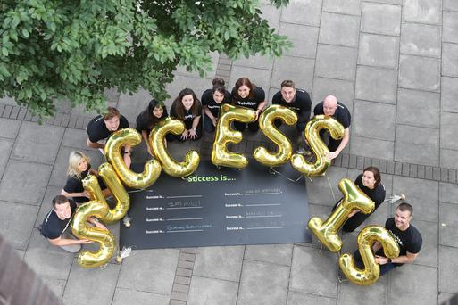 Deloitte's brand ambassadors launching Success is