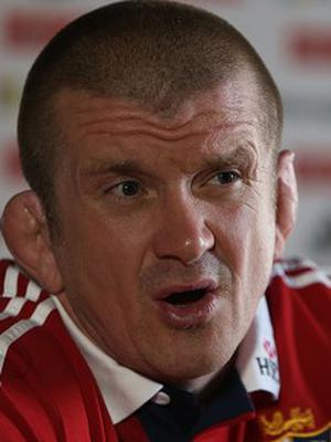 Graham Rowntree, pictured, joins Neil Jenkins on the Lions tour.