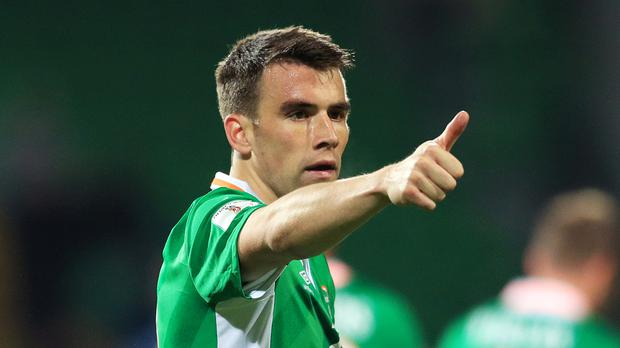 Seamus Coleman led the Republic to back-to-back wins