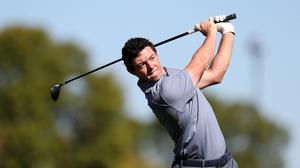 Rory McIlroy leads by two in Mexico