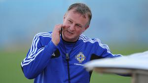 Northern Ireland manager Michael O'Neill was not too downbeat following his side's 2-0 loss in Romania