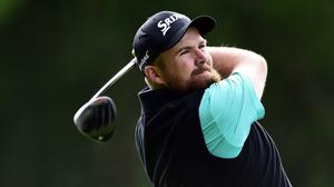 Shane Lowry returns to action after a six-week break in Scotland