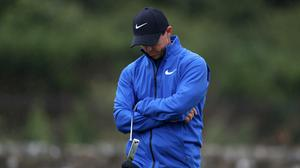 A walkover win could not keep Rory McIlroy in the tournament