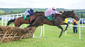 Lean And Keen gets a good jump at the last
