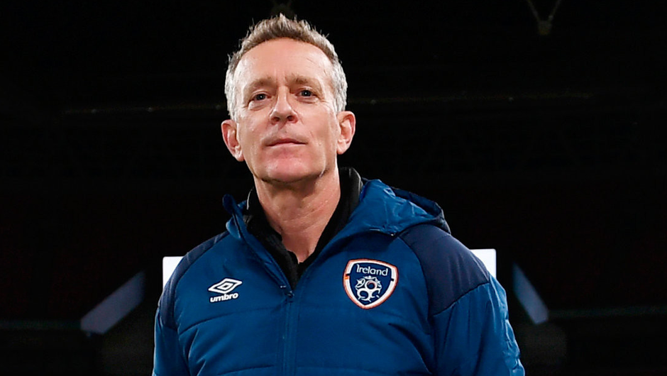 Making his pitch: The FAI's new chief executive Jonathan Hill has called for cultural improvements within the association. Photo: Sportsfile