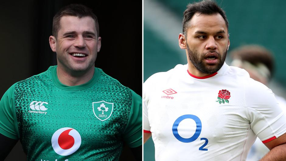 CJ Stander (left) and Billy Vunipola (right) (PA)