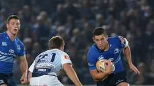 Noel Reid, right, scored an early try as Leinster overcame Cardiff