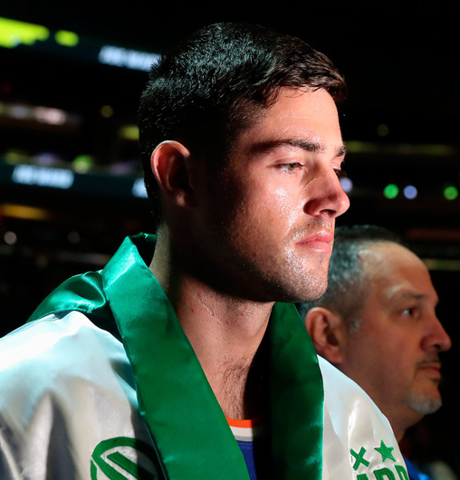 Joe Ward is back in action on Friday morning (1am Irish time). Photo: Ed Mulholland/Sportsfile