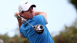 Rory McIlroy produced a steady opening round