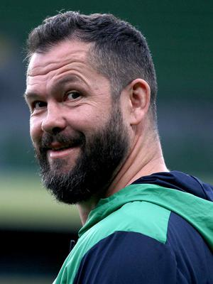 Andy Farrell was pleased to get off to a winning start as Ireland coach (Donall Farmer/PA)