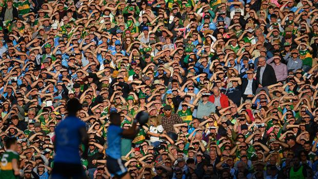 Up to 40,000 fans will return to Croke Park for the All-Ireland finals with 25,000 expected for Ireland's World Cup qualifiers at the Aviva in September. Picture: Sportsfile.