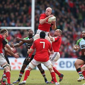 Paul O'Connell was immense in Munster's win at Harlequins