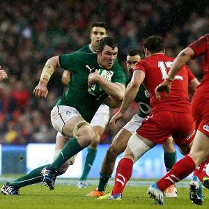 Peter O'Mahony put in a man-of-the-match performance against Wales