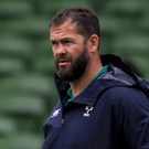 New Ireland coach Andy Farrell. Photo: Donall Farmer/PA