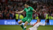 Republic of Ireland defender John O'Shea wanted a World Cup play-off replay