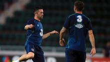 Republic of Ireland captain Robbie Keane, pictured left, has urged his team-mates not to pass up a golden opportunity to make it to the Euro 2016 finals