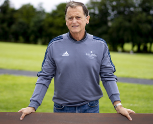 Dr Liam Hennessy was 'pushing an open door' when he joined the IRFU while he describes 'Babs' Keating as 'ahead of his time. Photo: Don Moloney