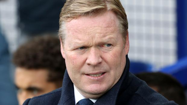 """Everton boss Ronald Koeman, pictured, says Seamus Coleman is """"one of the best professionals I've ever worked with at any club"""""""