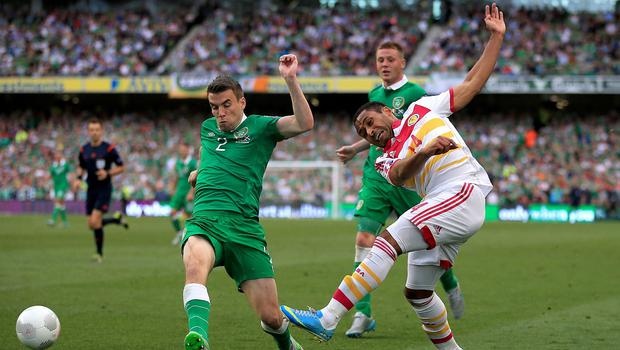 Seamus Coleman, left, admits the Republic of Ireland need to learn from their mistakes