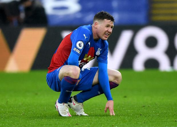 Crystal Palace's James McCarthy will not be involved for the Republic of Ireland next month (Facundo Arrizabalaga/PA)