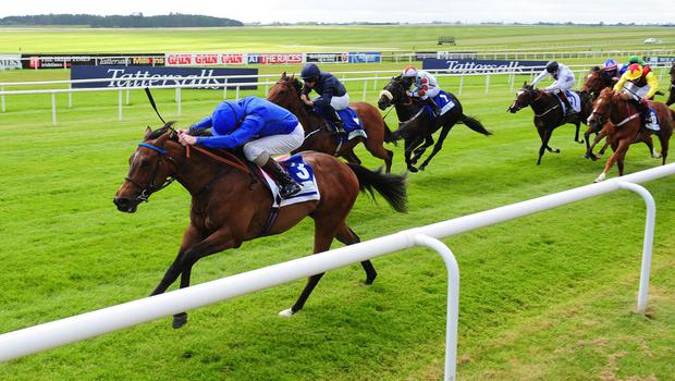 Round Two is part of Jim Bolger's Royal Ascot team