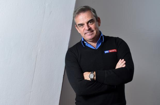 Former Ryder Cup captain and Sky Sports analyst Paul McGinley
