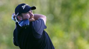 Shane Lowry had reasons to be cheerful at Chambers Bay