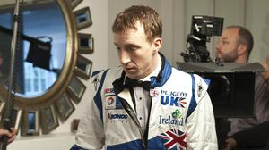 Northern Ireland's Kris Meeke, pictured, was the best of the rest after the Volkswagens locked out the podium places