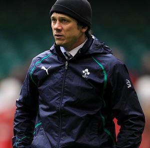 Les Kiss is relishing the opportunity to work under Joe Schmidt's in Ireland's coaching team