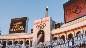 The Los Angeles Olympics in 1984. Photo: Getty