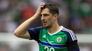 Craig Cathcart has not represented his country since the Euros