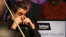 Ronnie O'Sullivan was beaten by Alexander Ursenbacher