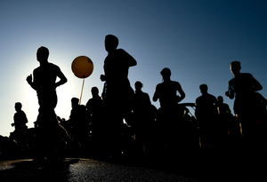There are normally hundreds of marathons to run worldwide, however, due to coronavirus restrictions, access to these races will be extremely limited (stock image)