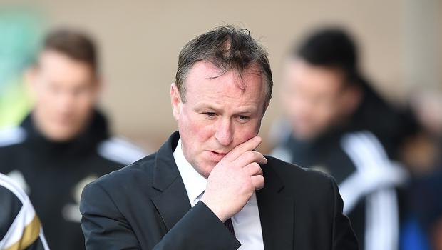 Michael O'Neill is fully focused on Northern Ireland's next two engagements