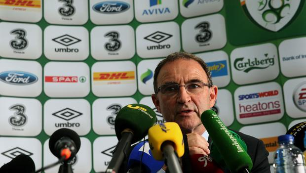 Republic of Ireland manager Martin O'Neill was happy with the performance