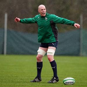 Talisman Paul O'Connell was ruled out of Ireland's RBS 6 Nations opener with a chest infection
