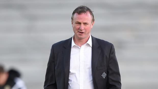 Northern Ireland manager Michael O'Neill was satisfied with a point against Romania