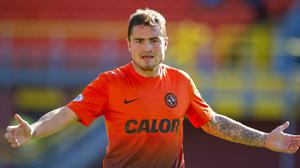 Paul Paton, pictured, has a knee injury and misses international duty