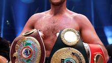 Ring master: Fury, who boxed for Ireland as an amateur, winning the heavyweight title last Saturday.