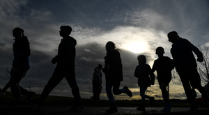 'We have come a long way in recent years on this issue and perhaps the next detailed study of our children and teenagers will show some improvement, but if all our schools are not on the same page when it comes to physical exercise then it seems there is still a way to travel.' (stock photo)