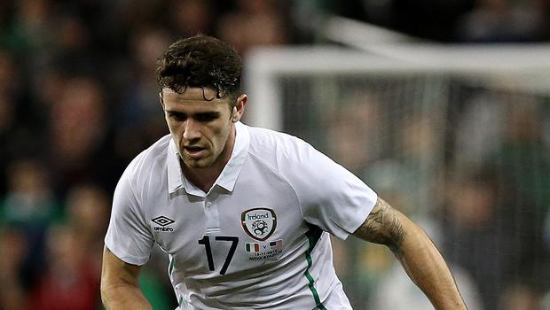 Republic of Ireland defender Robbie Brady is hoping to keep his place for the Euro 2016 qualifier against Scotland