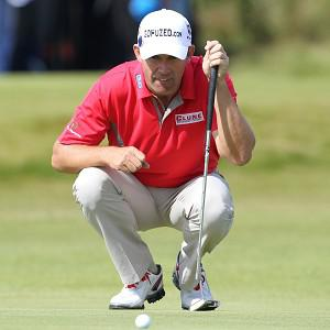 Padraig Harrington intends to use a longer putter at the Wells Fargo Championship