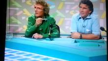 Eamon Dunphy and John Giles on the panel in 1990