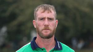 """Brendan Taylor has apologised to John Mooney, pictured, over an """"unacceptable article"""" in the Zimbabwe Herald"""