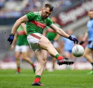 Séamie O'Shea is the latest Mayo footballer to announce his retirement from county football since Sunday. He follows team-mates Donal Vaughan, David Clarke and Tom Parsons in stepping aside. Photo: Sportsfile