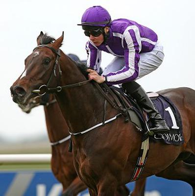 Camelot and Joseph O'Brien take the Mooresbridge at the Curragh