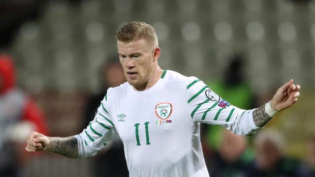 James McClean (pictured) is ready for the Republic of Ireland's World Cup qualifier against Wales